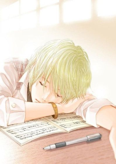 Writing Boy Sleeping